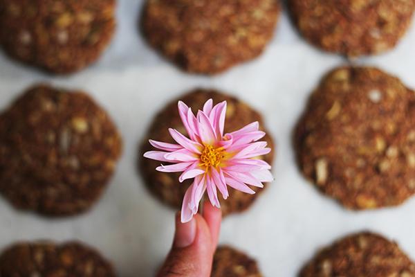 Organic Home-made Sugar-free Muesli Crunch Cookies!