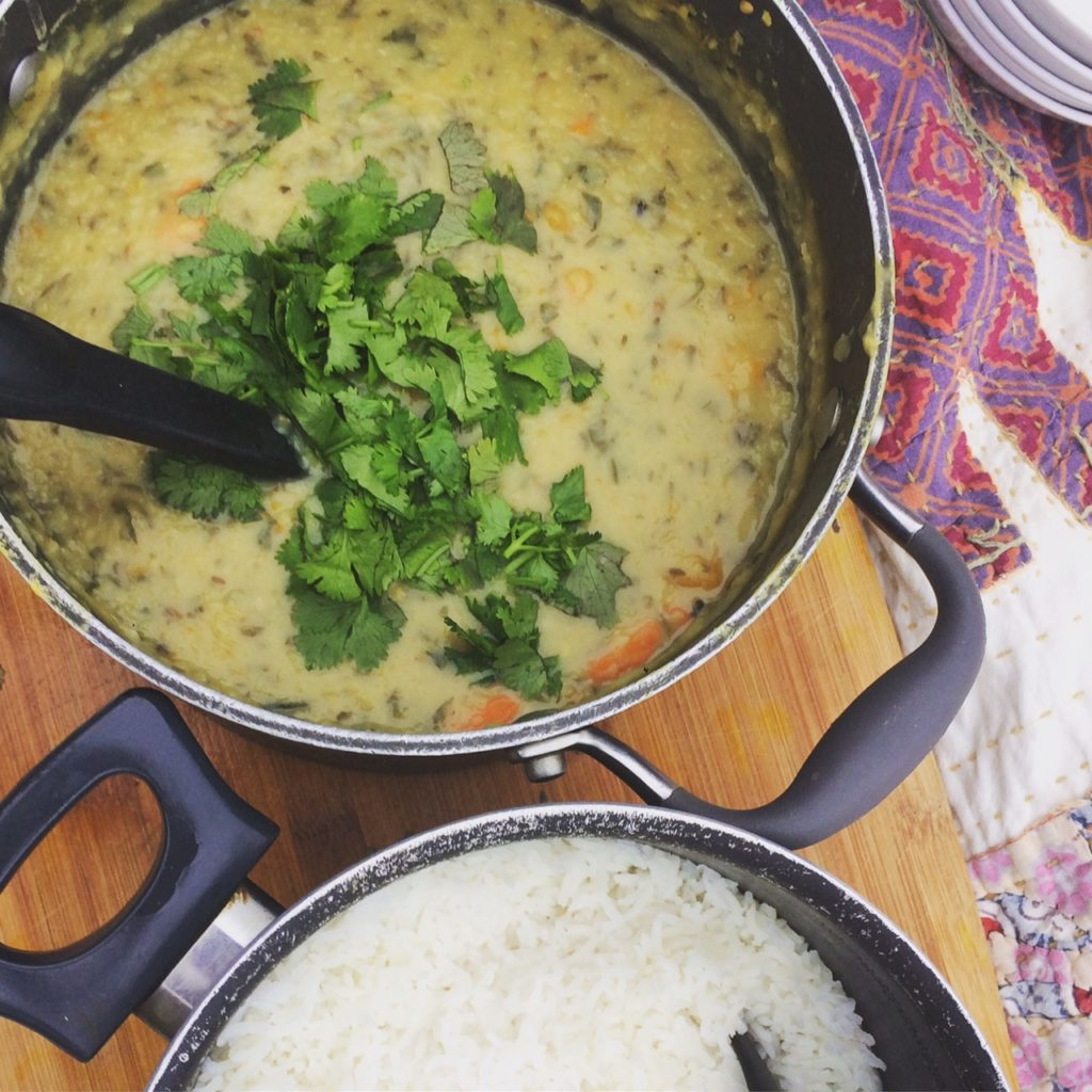 Ayurvedic Dhal and Rice Picnic